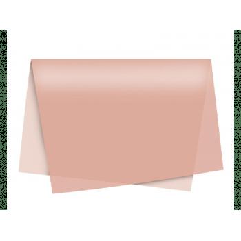Papel de Seda Rose Gold c/ 3 unidades 49x69 cm - Cromus