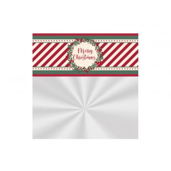 Saco Poli 60x90 cm - Merry Christmas - Cromus