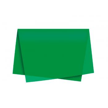 Papel de Seda Verde Bandeira c/ 3 unidades 49x69 cm - Cromus
