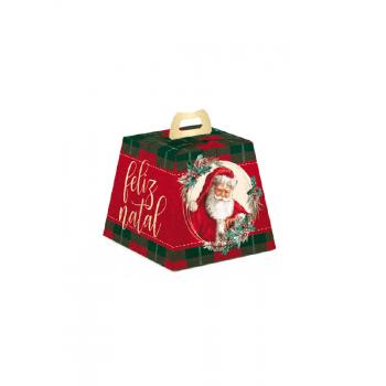 Caixa para Panetone 100g Noel Boas Festas - Cromus
