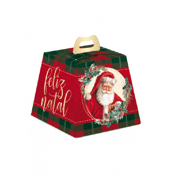 Caixa para Panetone 500g Noel Boas Festas - Cromus