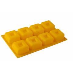 Forma de Silicone Cupcake Quadrado Médio Mary Tools