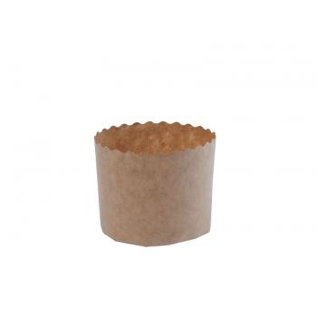 Forma de Panetone Natural 250g c/ 100 unidades - Ecopack