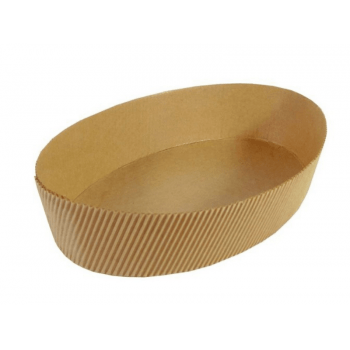 Forma para Colomba Pascal Natural 500g c/ 50 unidades - Ecopack