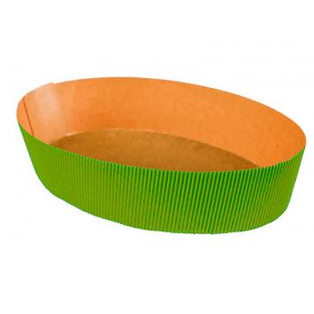 Forma para Colomba Pascal Verde 500g c/ 50 unidades - Ecopack
