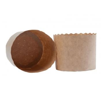 Forma de Panetone Natural 1kg c/ 50 unidades - Ecopack