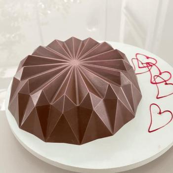 Forma Prática com Silicone Bolo Origami N3655 - Bwb
