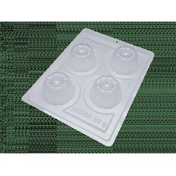 Forma Prática com Silicone Trufa Mousse N10100 - Bwb
