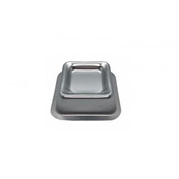 Forma Ballerine Quadrada Mini 9x3,5 cm c/ 6 unidades - Caparroz