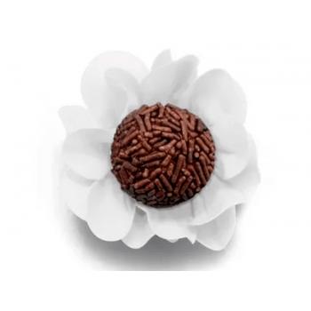 Forma para Doce Style Branca c/ 40 unidades - Ultrafest