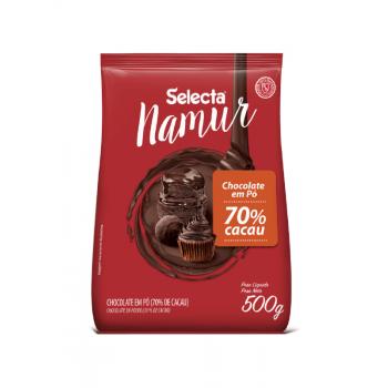 Chocolate em Pó Selecta 70% Cacau 500g - Mix