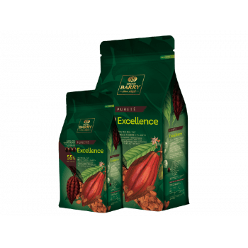 Chocolate Excellence 55% Amargo 5kg - Cacao Barry