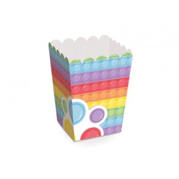 Caixa Pipoca Festa Fidget Toys c/ 10 unidades - Cromus