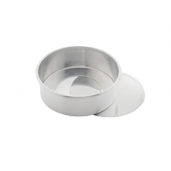 Forma Alumínio Bolo Redondo Fundo Solto 20x10 cm - Caparroz