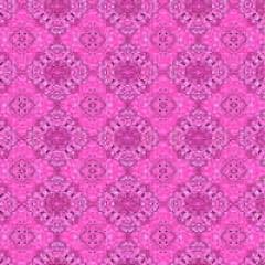 Papel Metalizado Bandana Rosa 69x89 cm c/5 Cromus